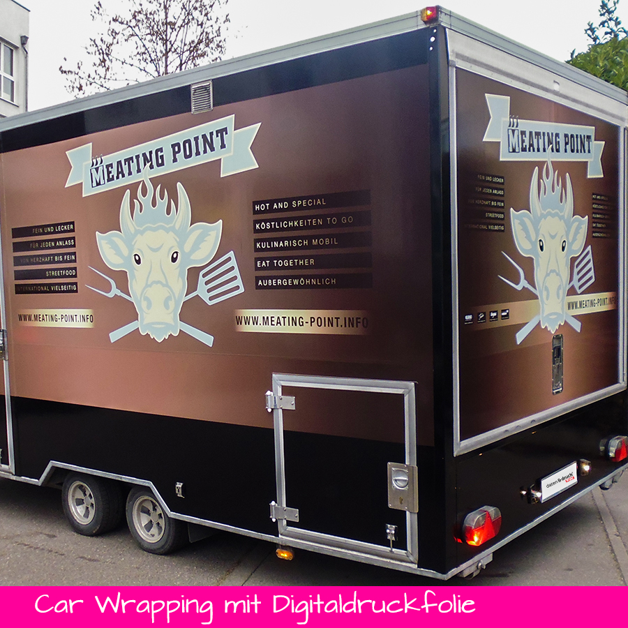 Car Wrapping mit Digitaldruckfolie